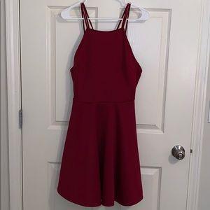 Women's Dark Red Dress